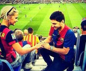 football, fc barcelona, and forever image