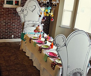 alice in wonderland and party ideas image
