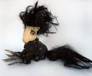 edward scissorhands and my little pony image