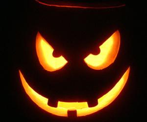 Halloween, pumpkin, and horror image