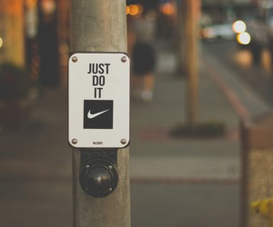 nike, Just Do It, and sport image