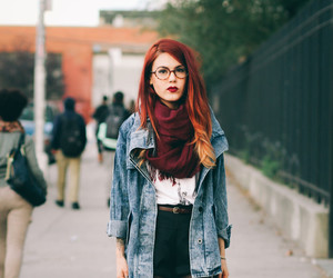 fall, glasses, and indie image