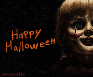 Halloween and annabelle image