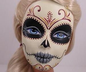 barbie, Halloween, and catrina image
