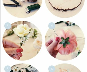 cool, diy, and flowercrown image