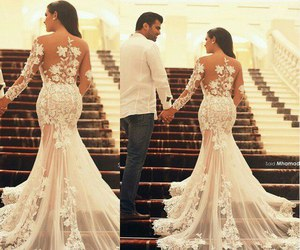 fashion, bride, and style image