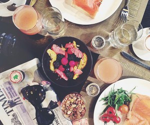 berries, breakfast, and fashion image