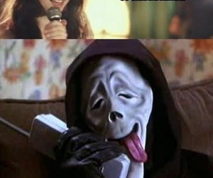 funny, scream, and ghostface image