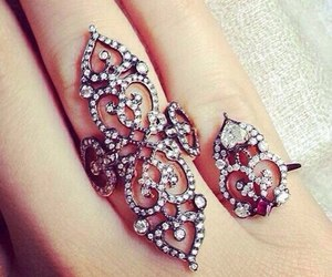 ring, jewelry, and rings image