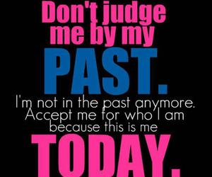 quote, past, and today image