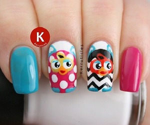art, furby, and nails art image