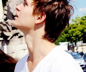 ansel elgort, tfios, and augustus waters image