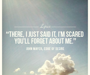john mayer, Lyrics, and edge of desire image