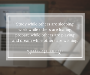 study, motivation, and quote image