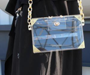clear, purse, and fashion image