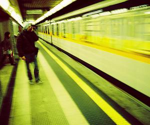 metro, station, and underground image