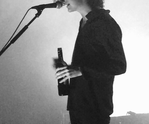 wine, matty healy, and the 1975 image