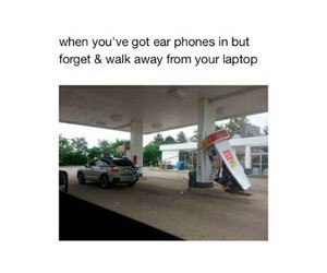 funny, HAHAHA, and laptop image