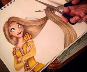 disney, tangled, and raiponce image