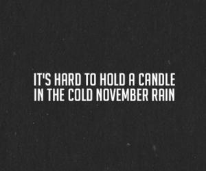 november rain, Guns N Roses, and music image