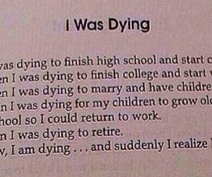 dying and quote image