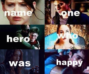 harry potter, the mortal instruments, and the maze runner image