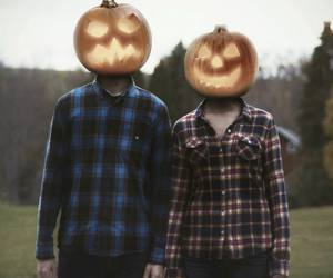 cool, couple, and flannel image