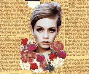 twiggy, Collage, and lesley lawson image
