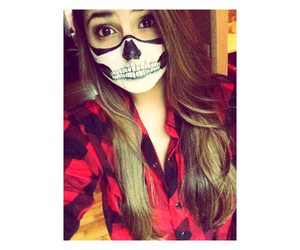 costume, face paint, and Halloween image