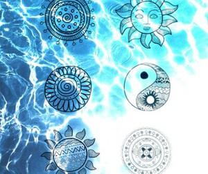 aqua, blue, and cool image