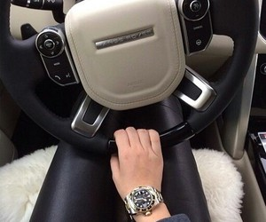 beautiful, car, and watch image