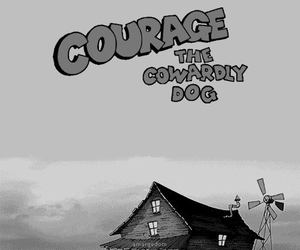 courage, dog, and black and white image