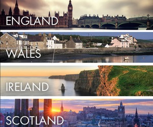 ireland, scotland, and wales image