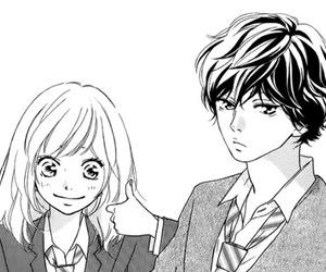 ao haru ride, manga, and kou image