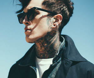 boy, tattoo, and Hot image