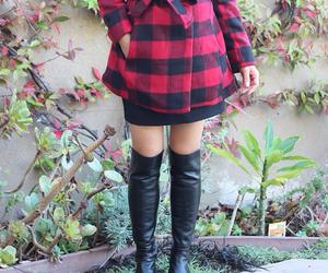 date, fall, and fashion image