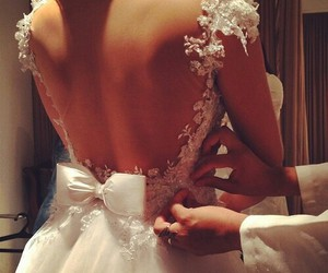 clothes, wedding, and couple image