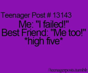 funny, teenager post, and high five image