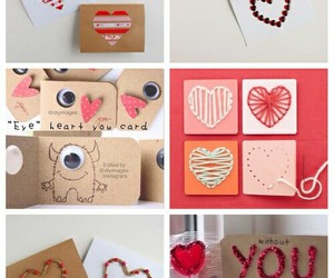 diy, valentines day, and be my valentine image