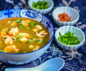 shrimp, soup, and tom yum image