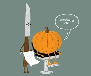 wallpaper, funny, and Halloween image