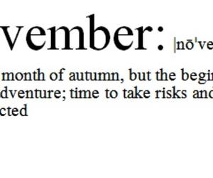 november, adventure, and autumn image