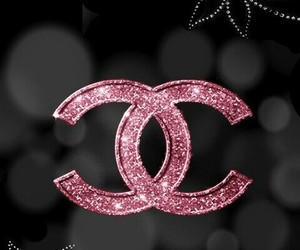 black, chanel, and pink image
