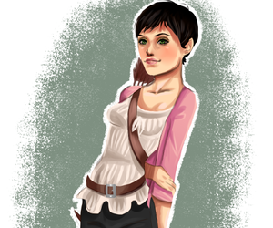 fan art, once upon a time, and mary margaret image