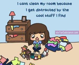room, funny, and clean image