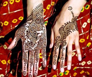 event, mehndi, and stylish image