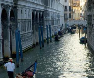 beautiful, venice, and boat image