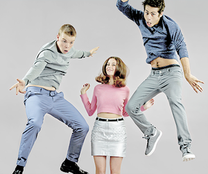 handsome, jump, and dylan image