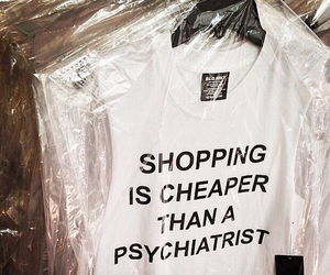 shopping, quotes, and white image