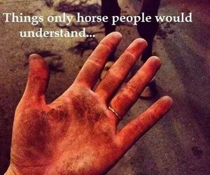 horse, dirt, and quotes image